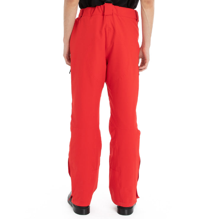 Kappa 6Cento 664 Ski Pants - Red Black