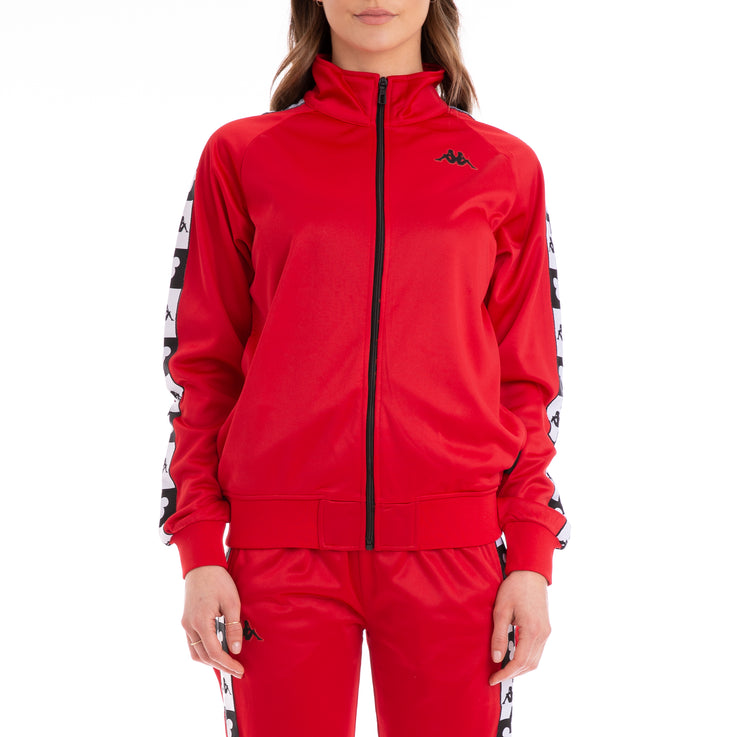 Authentic Anne Disney Red Black Track Jacket