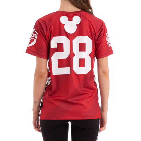 Kappa Authentic Armik Disney Red White Jersey
