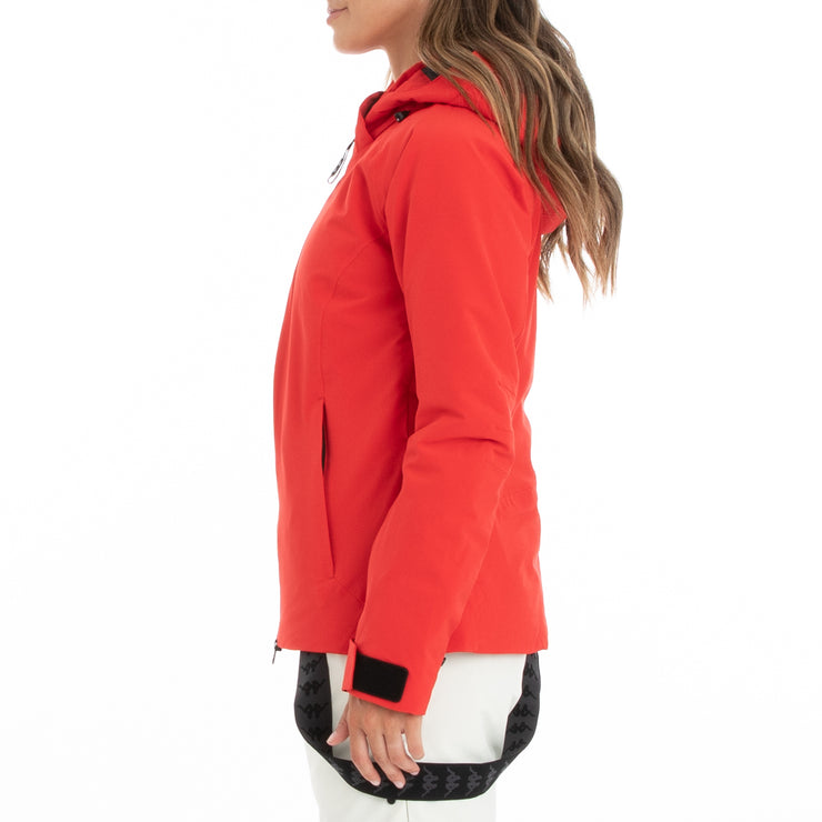 Kappa 6Cento 610 Ski Jacket - Red