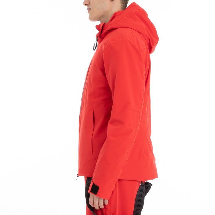 Kappa 6Cento 606 Ski Jacket - Red Black