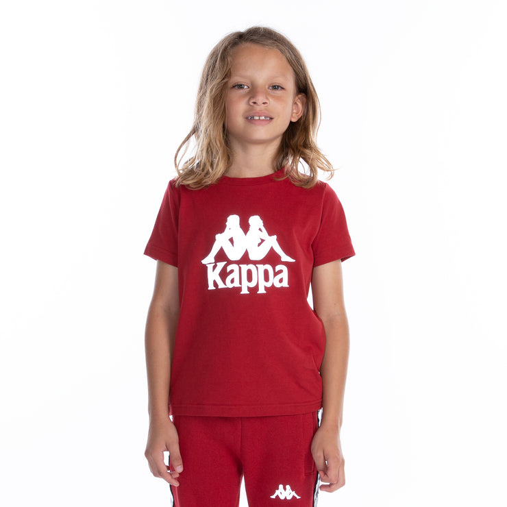 Kids 222 Banda Dris Reflective T-Shirt - Red Grey Reflective