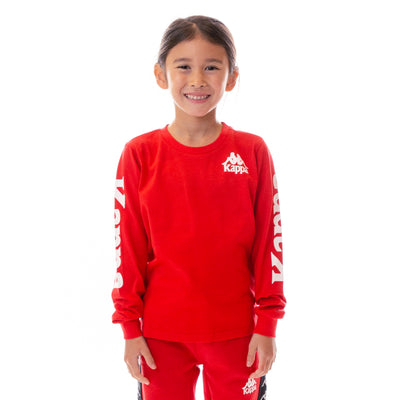 Kids Authentic Ruiz T-Shirt - Red White