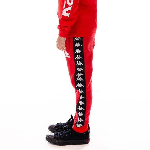 Kids 222 Banda Alanz Sweatpants - Red Black