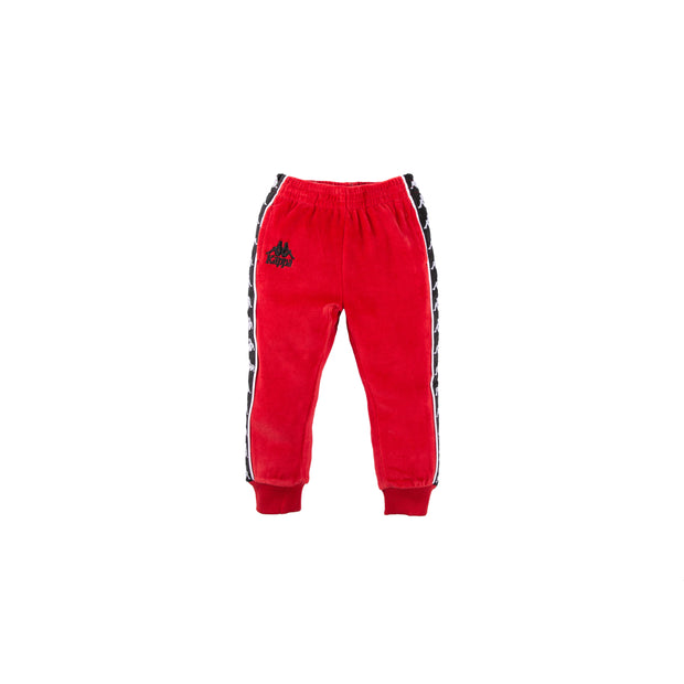 Infants Authentic 222 Banda Ayne Pants Red Dk Black White