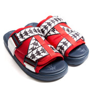 222 Banda Mitel 1 Red Blaze White Sandals
