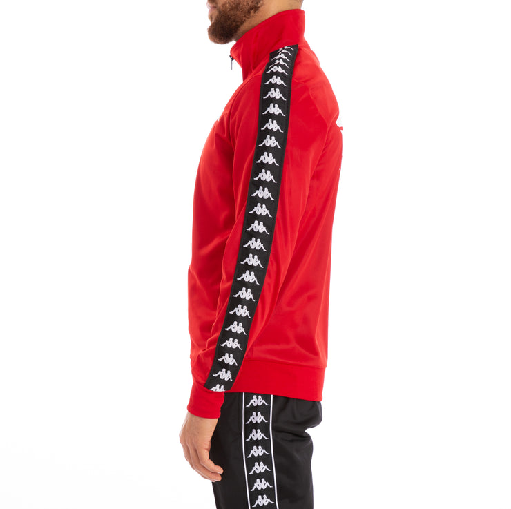 Authentic Batrack Red Dk Black Track Jacket