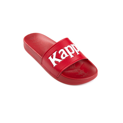 Kappa 222 Banda Adam 9 Red White Slides