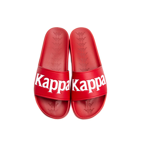 a10defdc29c Kappa 222 Banda Adam 9 Red White Slides