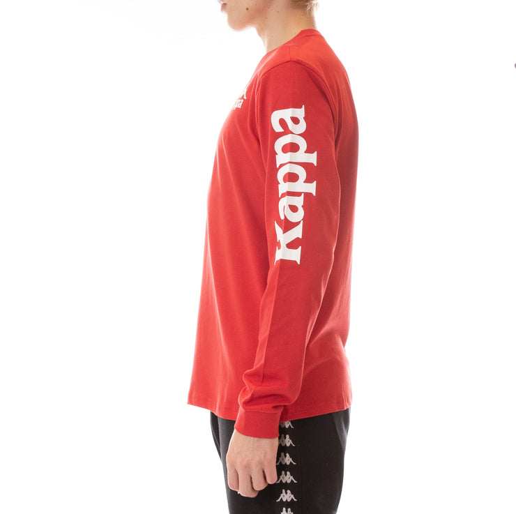 Authentic Ruiz Long Sleeve T-Shirt - Red White