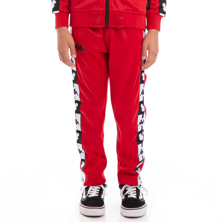 10e4b4cddb Kids Authentic Anthony Disney Red Black Trackpants – Kappa USA