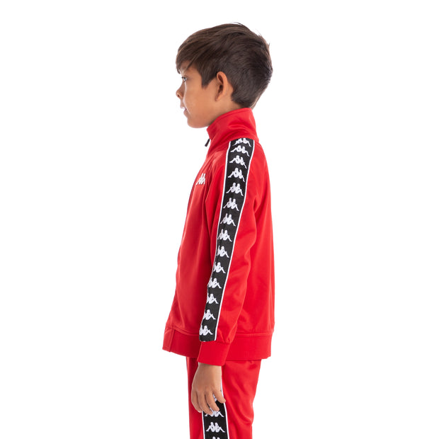 Kids 222 Banda Anniston Track Jacket Red Black