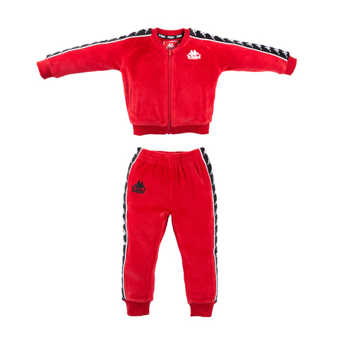 Infants Authentic 222 Banda Ayne Pants Red Dk Black White - SET