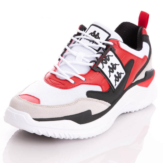 Kappa 222 Banda Masper 1 White Red Sneakers