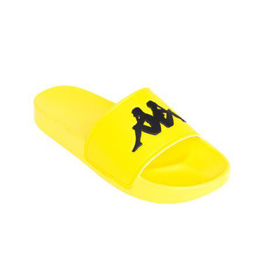 Kappa Authentic Adam 2 Yellow Fluo Black Slides
