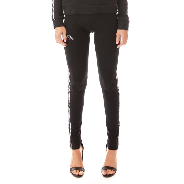 Logo Tape Arivo Leggings - Black Black White
