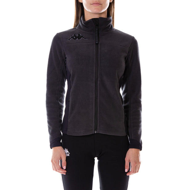 6Cento 688 Black Lt Fleece Jacket