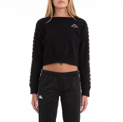 222 Banda Amay Black White Sweatshirt