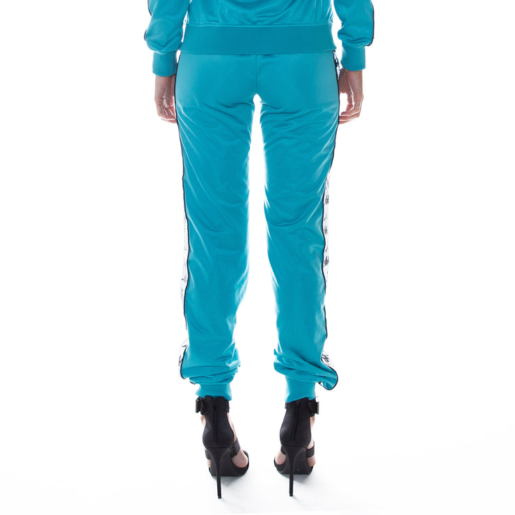 222 Banda Dinas Reflective Trackpants - Blue Bird  Reflective