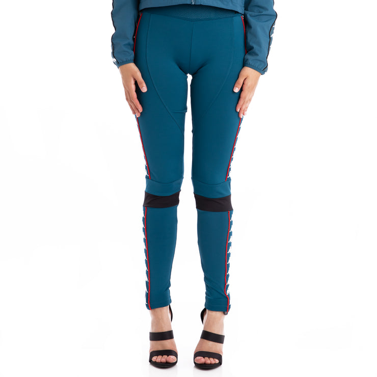 Authentic Burta Leggings - Blue Petrol Black