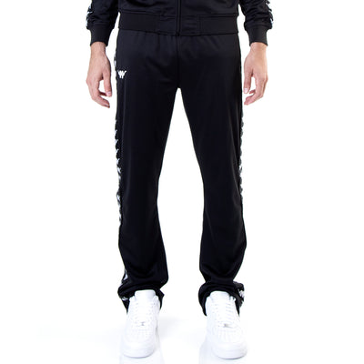 Kappa Authentic Bacile ComplexCon Black White Pants