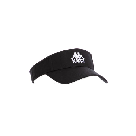 Kappa Authentic Bzahat Black White Visor