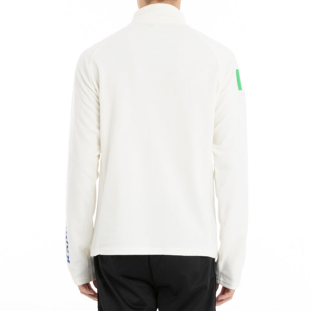 Kappa 6Cento 687B Fisi Fleece Jacket - White