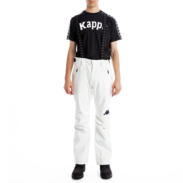 6Cento 622 Ski Pants - White Antique Black