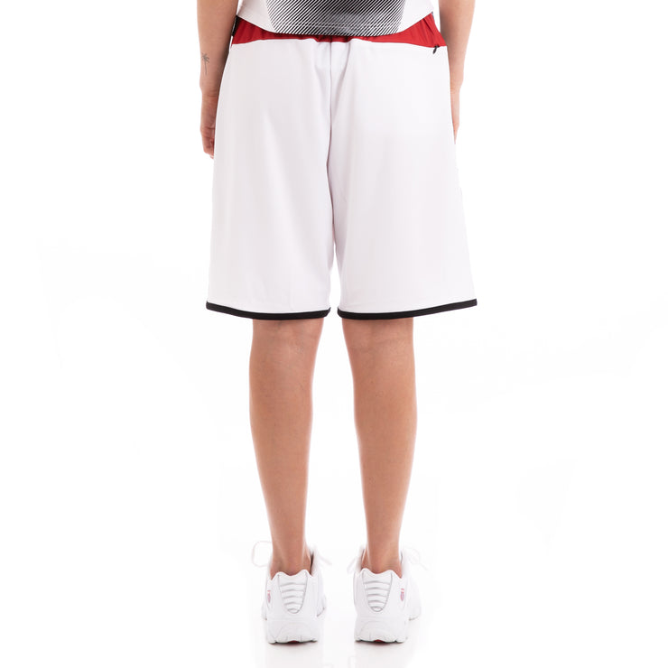 Kappa Authentic Basort Disney White Red Shorts
