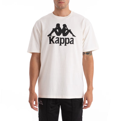 Kappa Authentic Estessi Beige Black T-Shirt