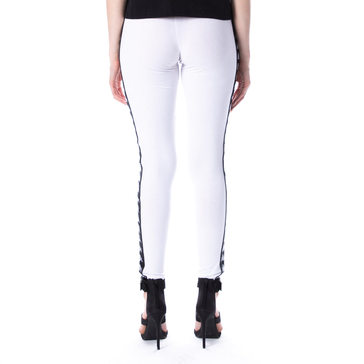 222 Banda Anen Leggings - White Black