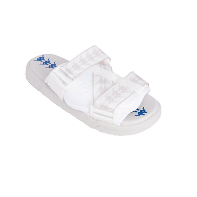 222 Banda Mitel 1 Sandals - White Grey Sand