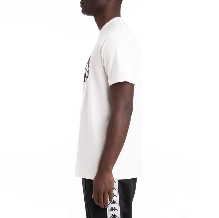 Kappa Authentic Estessi White Black T-Shirt