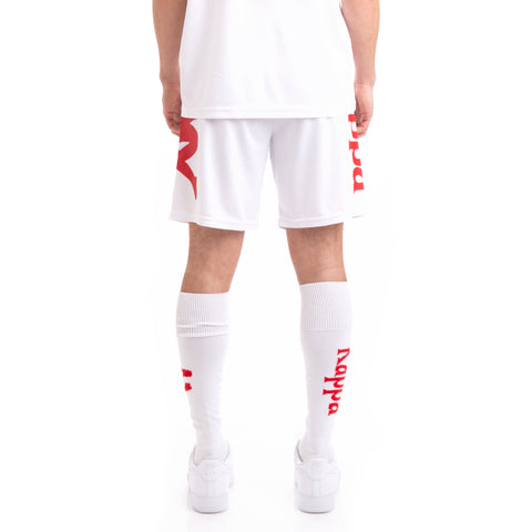 Kappa Kalcio Boltecs White Red Shorts