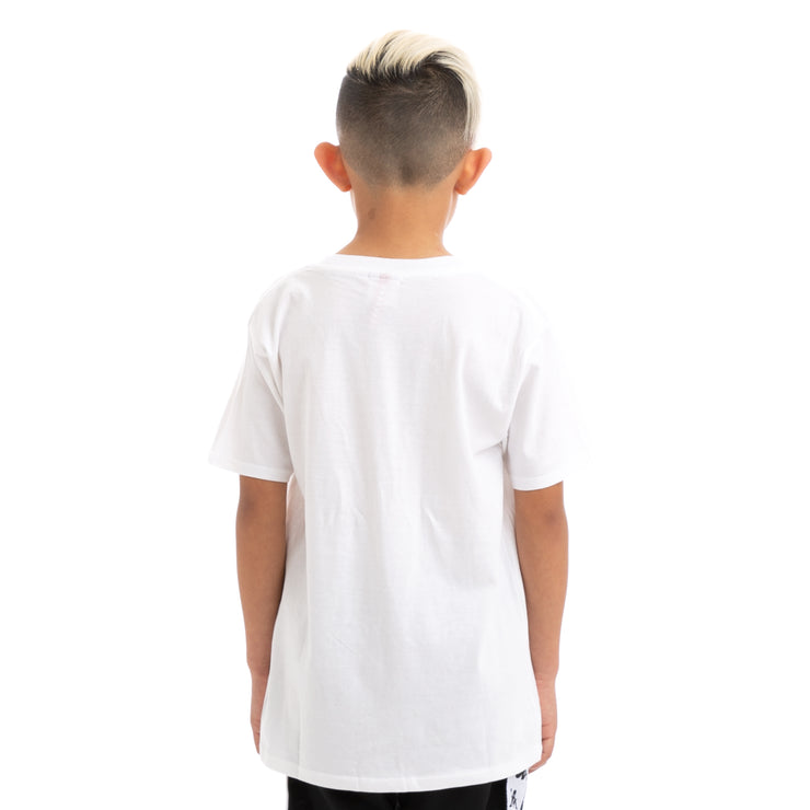 Kids Authentic Estessi Slim White T-Shirt
