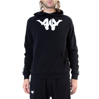 Kappa Authentic Baccello ComplexCon Black White Hoodie