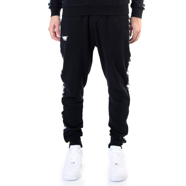 Kappa Authentic Butspad ComplexCon Black White Sweatpants