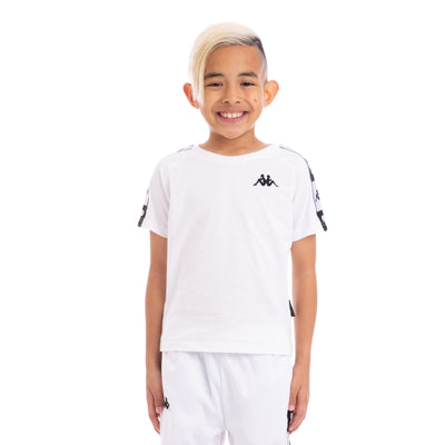 Kappa Kids Authentic Archie Disney White Black T-Shirt