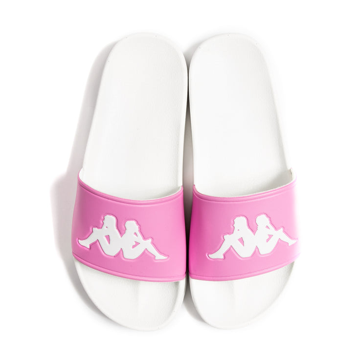 Authentic Adam 2 Slides - Pink White