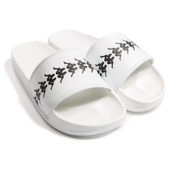 222 Banda Adam 4 Slides - White Black