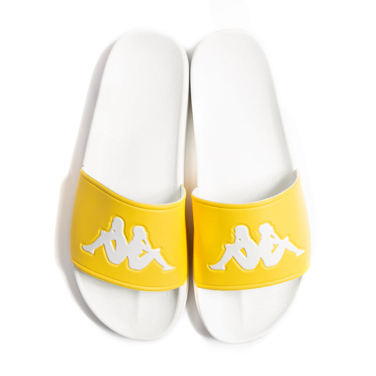 Authentic Adam 2 Slides - Yellow White