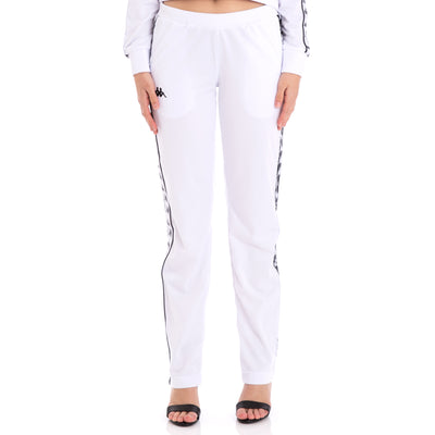 222 Banda Wastoria Alternating Banda White Black Pants