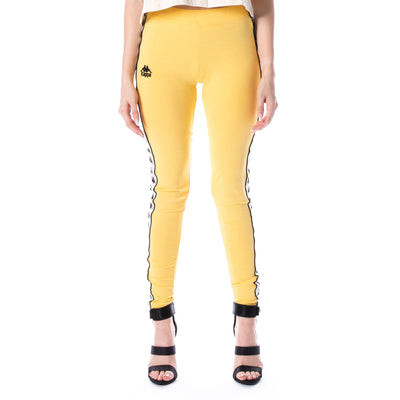 222 Banda Anen Leggings - Yellow Banana White Egg Black