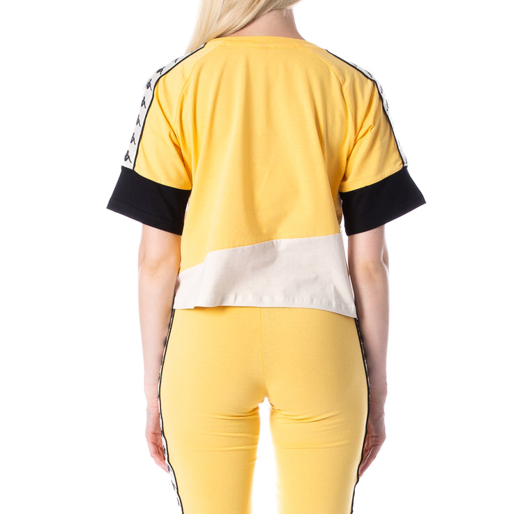 222 Banda Balimnos T-Shirt - Yellow Banana White Egg Black