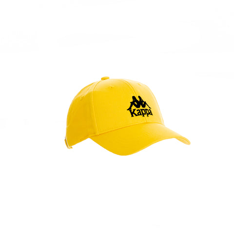 Kappa Authentic Bzaftan Yellow Dk Senape Black Cap