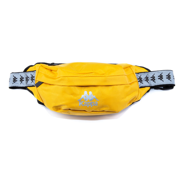 222 Banda Danky Reflective Pouch Bag Yellow Grey Reflective