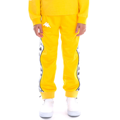 Kids 222 Banda Dodo Reflective Trackpants Yellow Grey Reflective