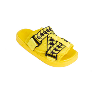 222 Banda Mitel 1 Yellow Fluo Black Sandals