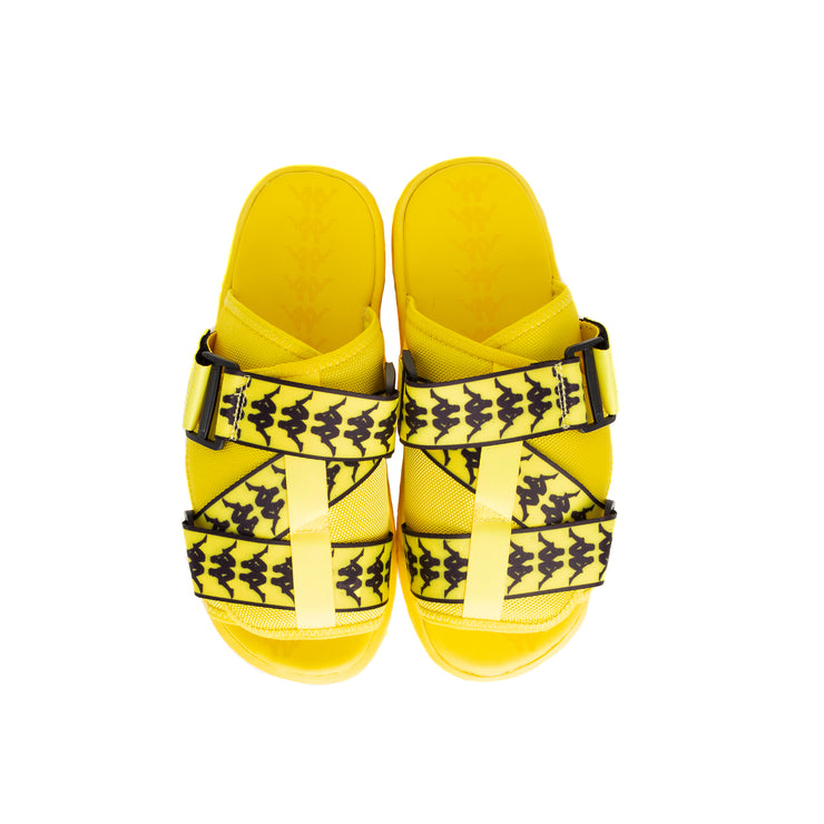 222 Banda Mitel 1 Sandals - Yellow Fluo Black