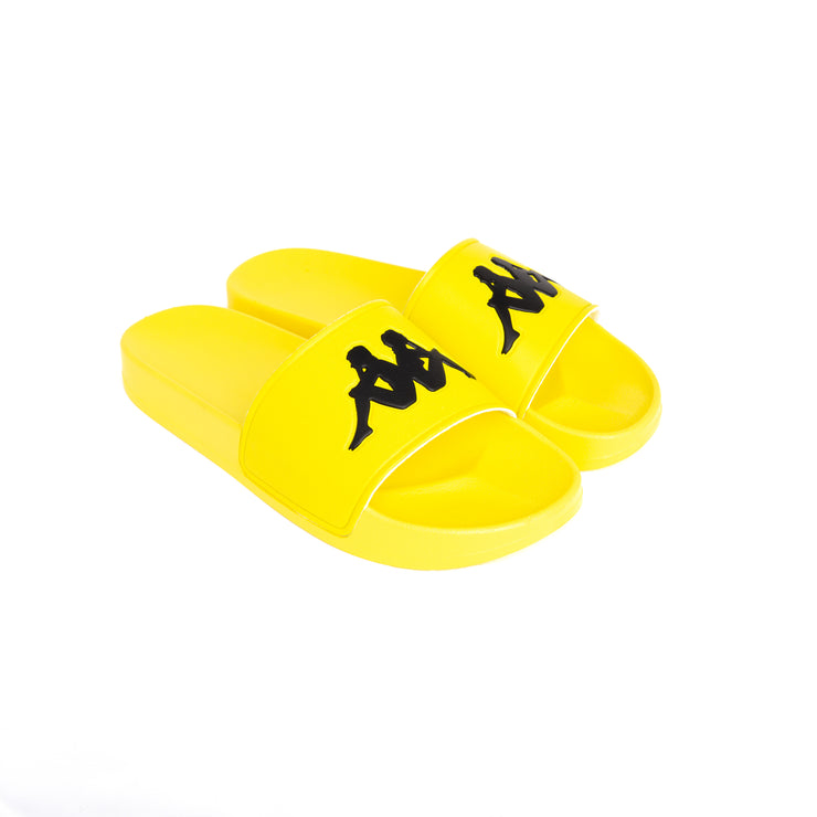 Authentic Adam 2 Slides - Yellow Fluo Black